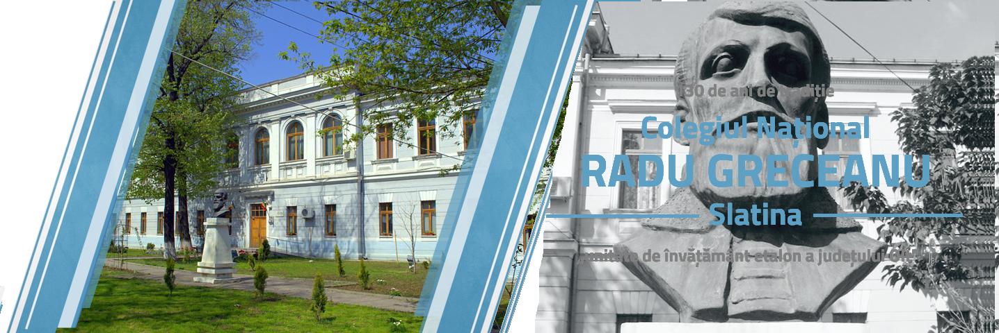 Colegiul Național Radu Greceanu - Slatina